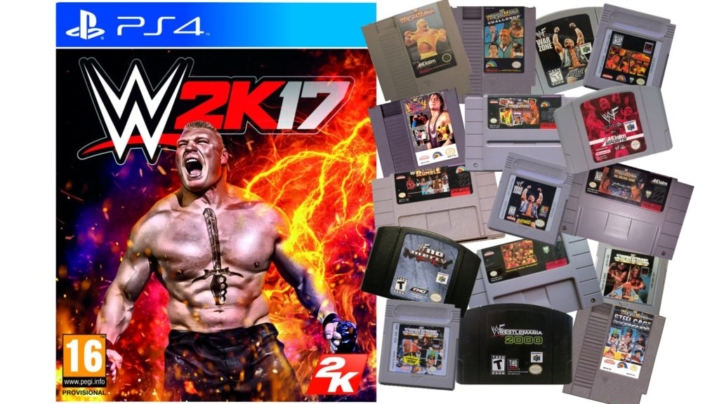 Wwe 2k17 Vs Old Wwf Games Lord Kayoss Official