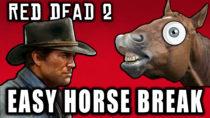 EASY Horse Breaking In Red Dead Redemption 2