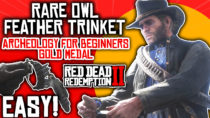 Owl Feather Trinket & Gold Medal | Archeology For Beginners | Red Dead Redemption II