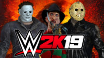 Jason, Michael, and Freddy in WWE 2K19 | PC Mods